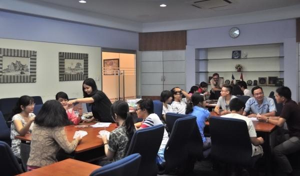 Trung tâm ngoại ngữ Pháp Việt CFV là nơi phù hợp với những ai đã có chút ít vốn liếng về tiếng Pháp