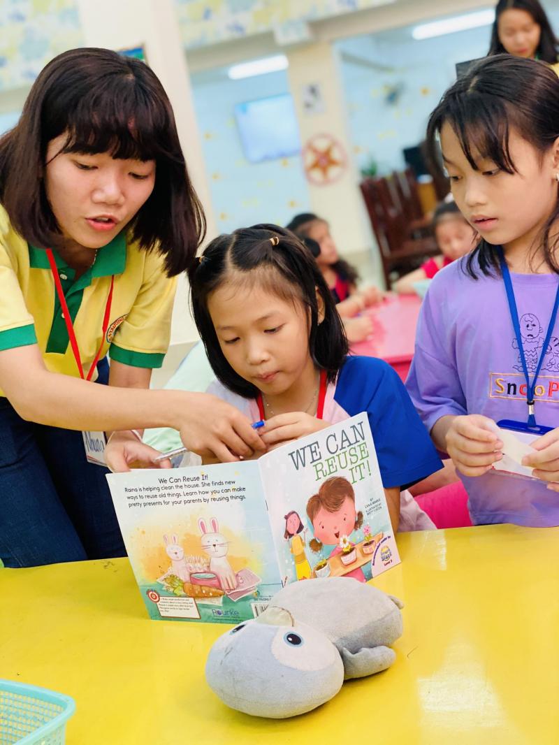 Chương trình đào tạo vừa học vừa chơi giúp các bé tiếp thu kiến thức nhanh hơn