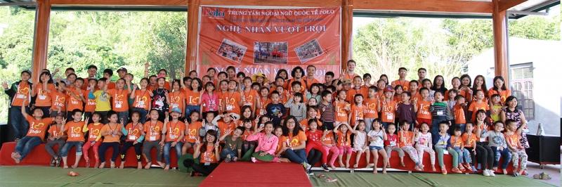 Trung tâm ngoại ngữ quốc tế Polo tổ chức dã ngoại cho học viên
