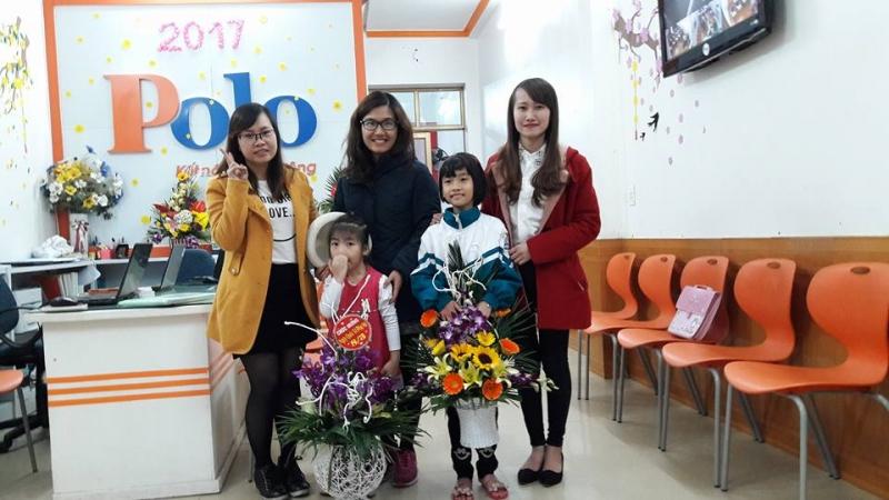 Văn phòng trung tâm ngoại ngữ quốc tế Polo Thái Bình