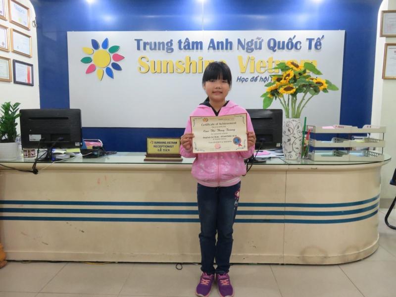 trung tâm ngoại ngữ quốc tế sunshine Vietnam