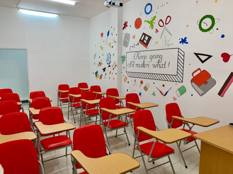 Cơ sở vật chất tại Trung tâm ngoại ngữ RES