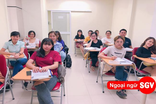 Trung tâm Ngoại ngữ Sài Gòn Vina