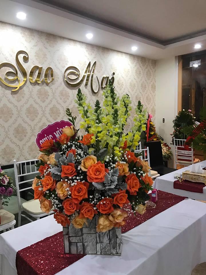 Văn phòng trung tâm ngoại ngữ Sao Mai