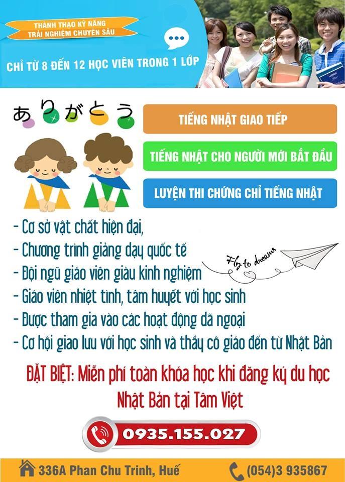 Trung tâm ngoại ngữ Tâm Việt
