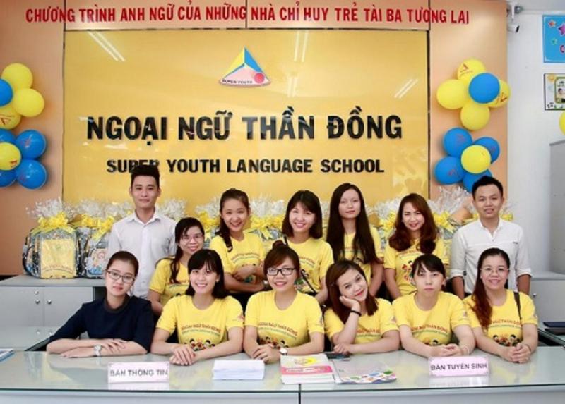 Trung tâm Ngoại ngữ Thần Đồng