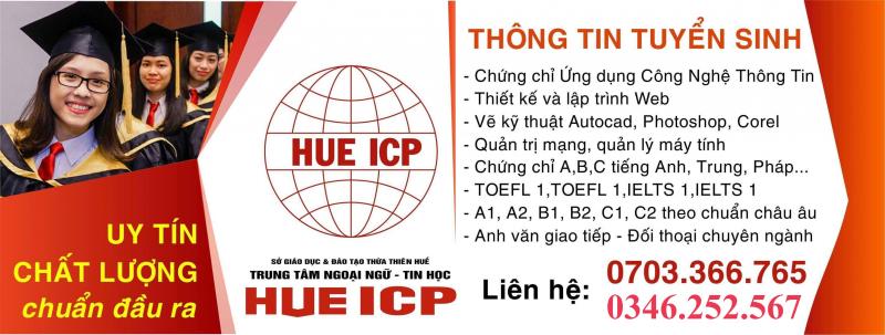 Trung Tâm Ngoại Ngữ - Tin Học Huế ICP