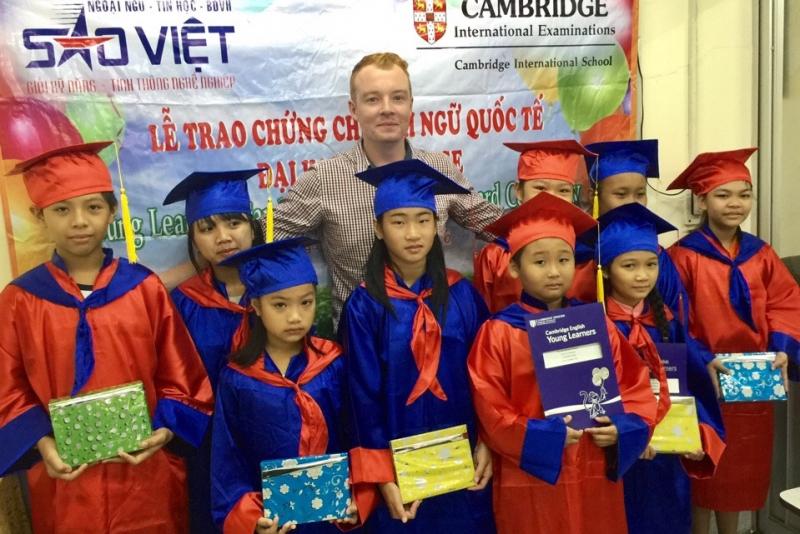 Trung tâm Ngoại ngữ - Tin học Sao Việt