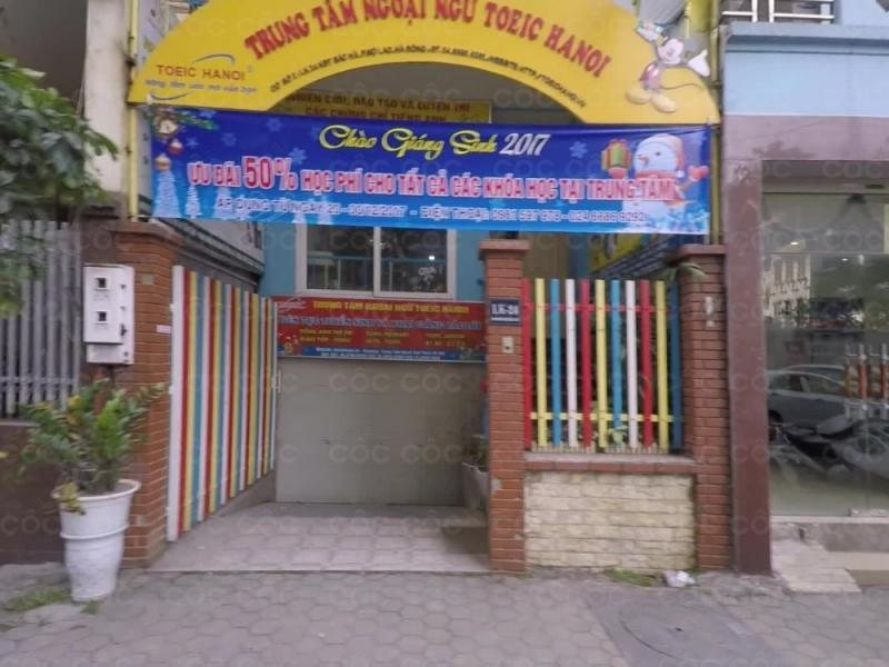 Trung tâm ngoại ngữ TOEIC Hà Nội