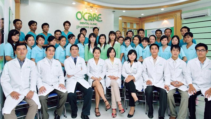 Đội ngũ bác sỹ, nhân viên Trung tâm nha khoa O'Care