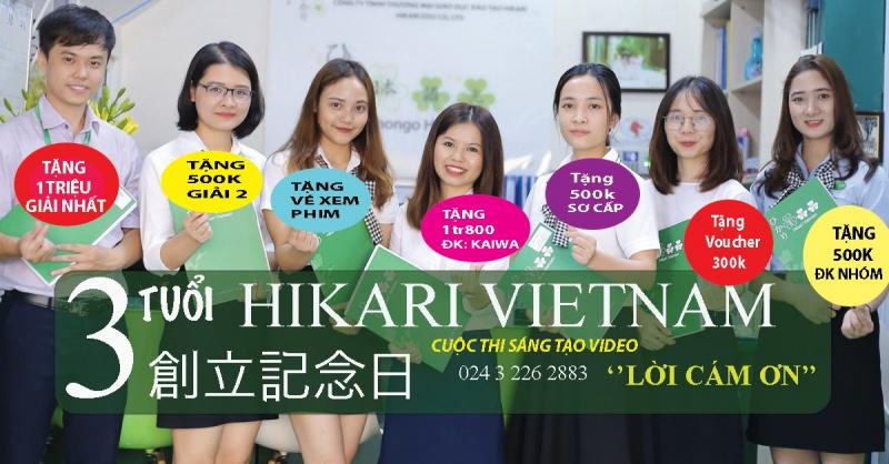 Một tiết học tại Trung tâm Nhật ngữ Hikari
