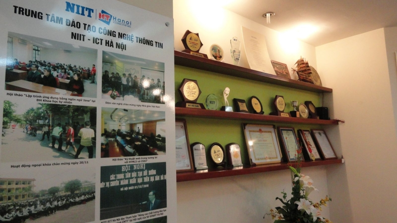 Các thành tích đã đạt được của Trung tâm NIIT-ICT