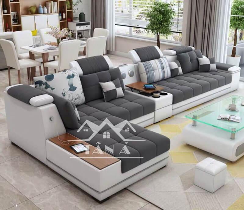 Ghế sofa ở Trung tâm nội thất Tân Á