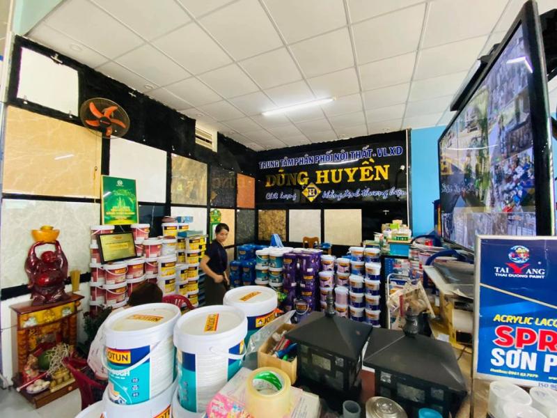 Trung tâm phân phối nội thất & VLXD Dũng Huyền