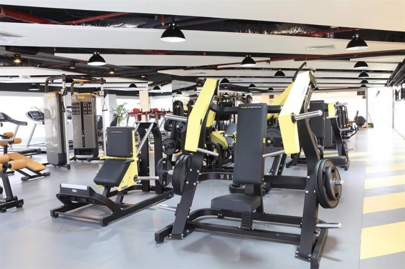 Trung tâm R&B Fitness World