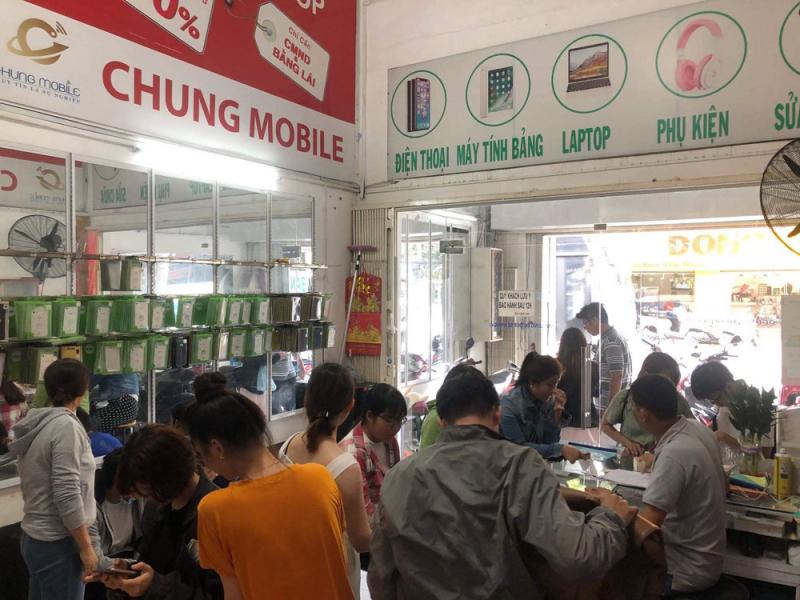 Trung tâm sửa chữa điện thoại Chung Mobile