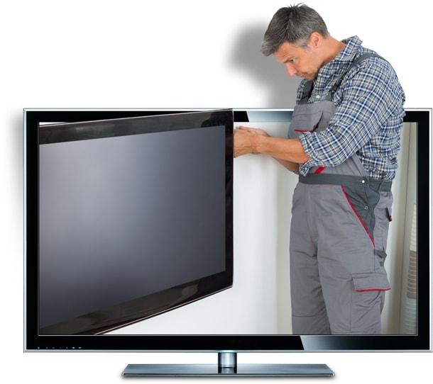 Thợ sửa tivi sẽ đến tận nhà quý vị và tìm nguyên nhân gây hư hỏng để tiến hành sửa chữa tivi nhanh nhất cho khách hàng.
