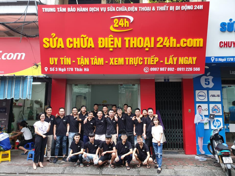 Trung tâm sửa chữa Smartphone 24H