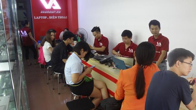 Trung tâm sửa chữa VAGROUP luôn được khách hàng tin tưởng và lựa chọn