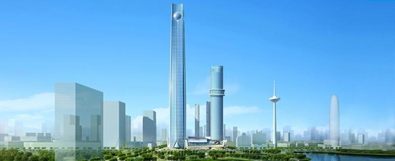 Mô hình của Trung tâm Tài chính toàn cầu Baoneng Shenyang