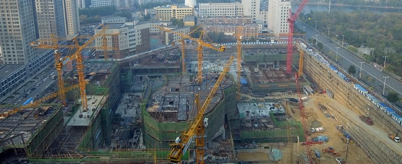Công trình đang được thi công và dự kiến hoàn thành vào năm 2018