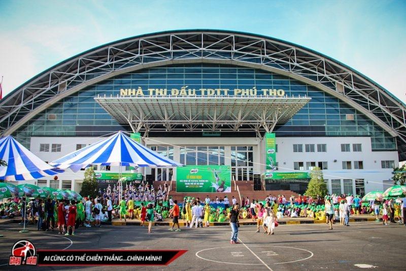 Nhà thi đấu TDTT Phú Thọ