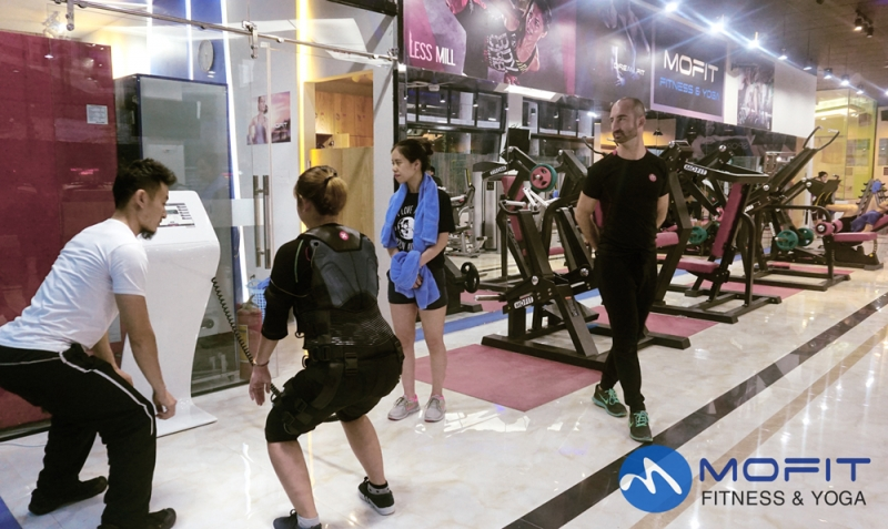 Phòng Tập Gym Mofit Fitness & Yoga