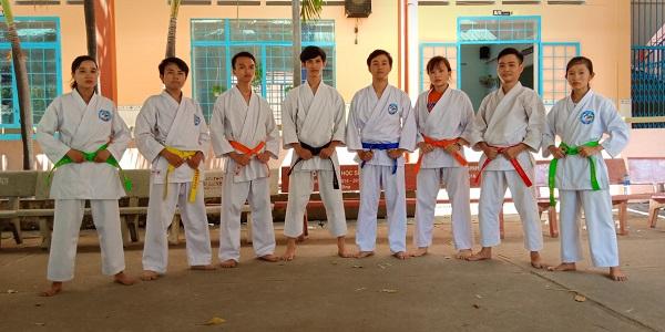 Học viên học võ tại Trung tâm TDTT Thủ Đức