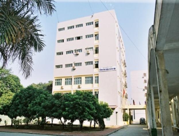 Trụ sở chính Trung tâm thông tin - thư viện Đại học Quốc gia Hà Nội