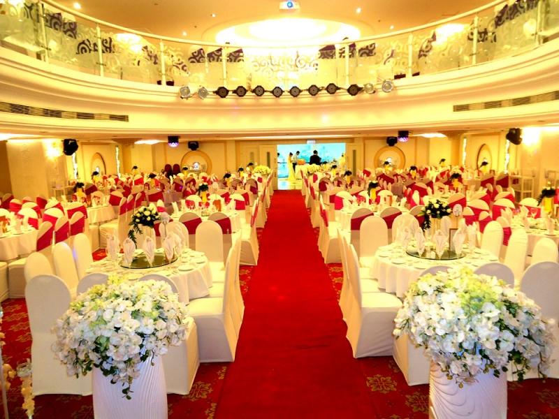 Trung tâm tiệc cưới Phú Mỹ Thành sang trọng mà ấm cúng