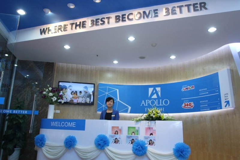 Trung tâm tiếng Anh Apollo