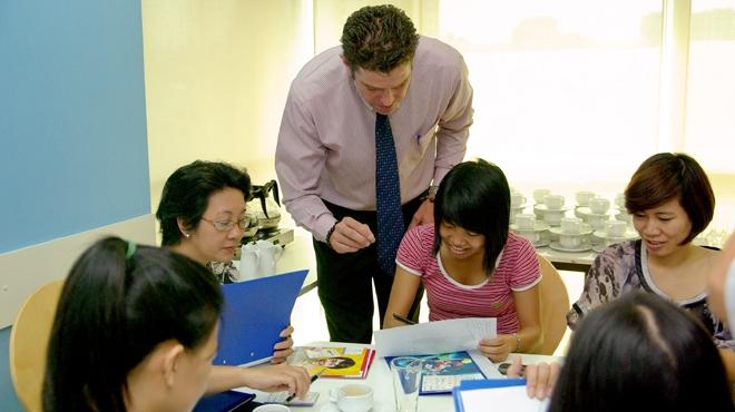 Trung tâm tiếng Anh Aroma - trung tâm tiếng Anh cho người đi làm tại Hà Nội