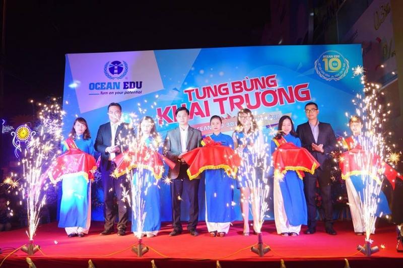 Trung tâm tiếng Anh Ocean Edu Thái Bình tưng bừng khai trương kỉ niệm 10 năm thành lập