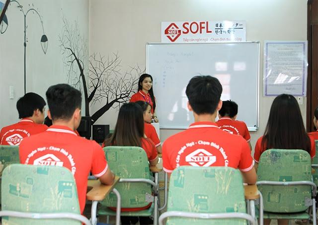 Trung tâm tiếng Hàn SOFL có nhiều khóa học phục vụ cho mọi đối tượng