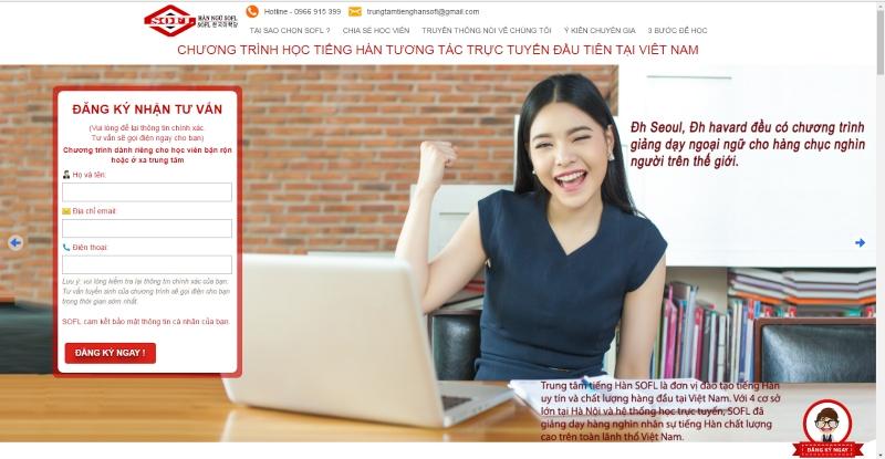 Khóa học tiếng Hàn trực tuyến có giáo viên hướng dẫn đang thu hút nhiều học viên