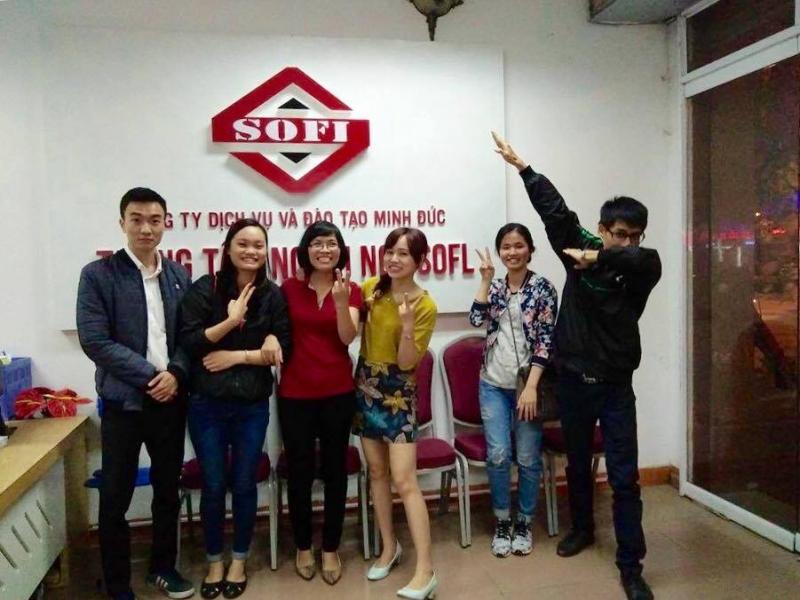 Đội ngũ giảng viên tại SOFL nhiệt tình, giàu kinh nghiệm và vô cùng thân thiện