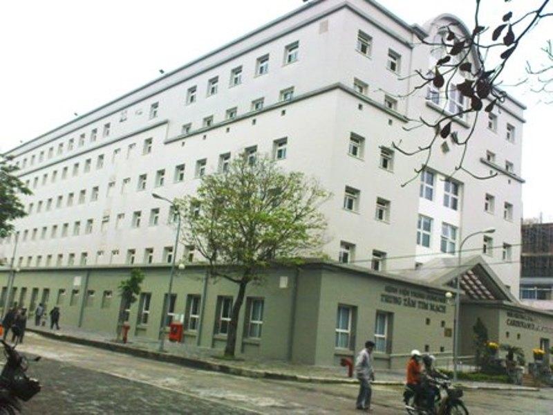Trung tâm tim mạch bệnh viện trung ương Huế