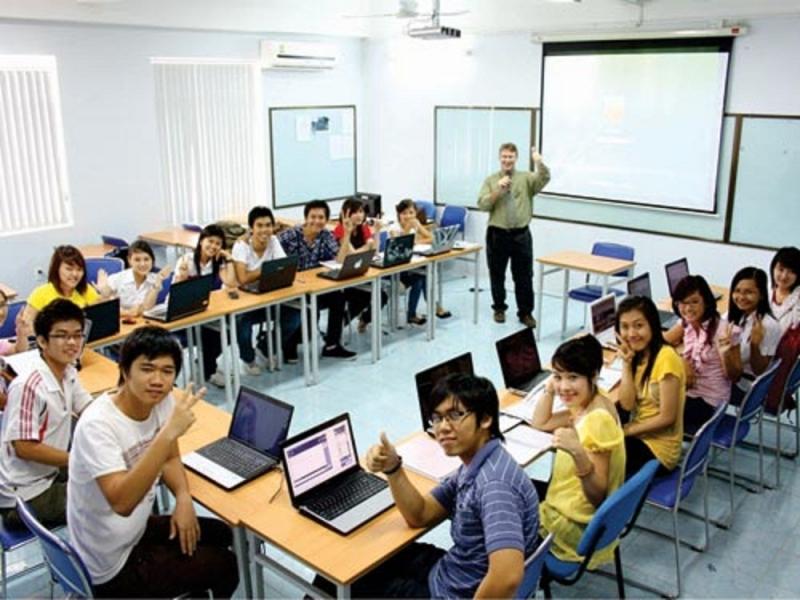 Các học viên trong giờ học