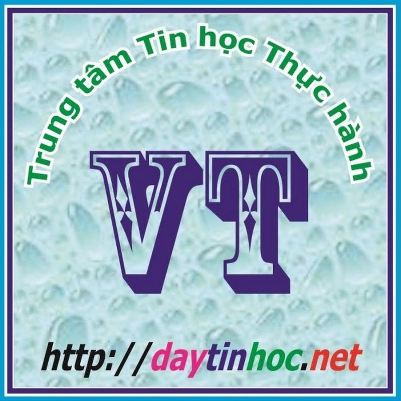 Logo trung tâm tin học thực hành VT