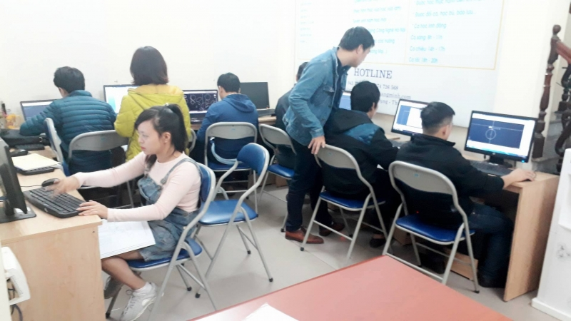 Trung tâm tin học và thực hành kế toán Quang Minh