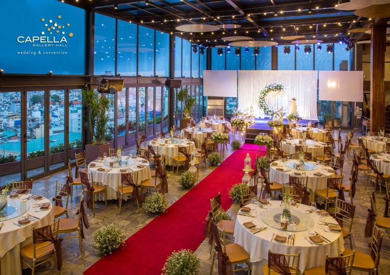 Trung tâm tổ chức tiệc cưới Capella Gallery Hall