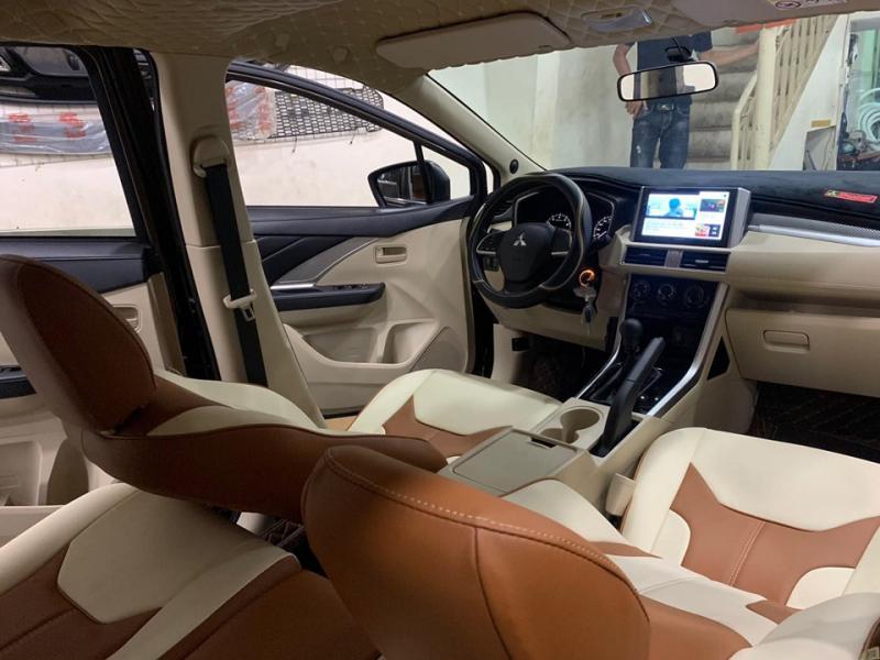 Những đường may tinh xảo góp phần tạo nên bộ ghế da xe hơi đẹp mắt và sang trọng