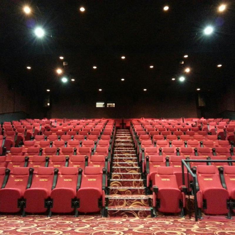 Một góc phòng chiếu tại rạp Kim Đồng