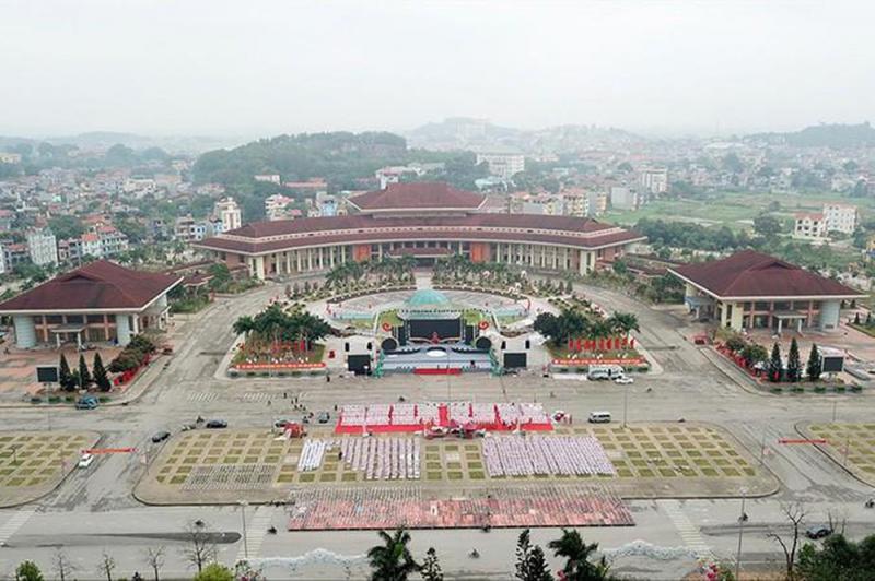 Trung tâm văn hóa Kinh Bắc có quy mô vô cùng lớn