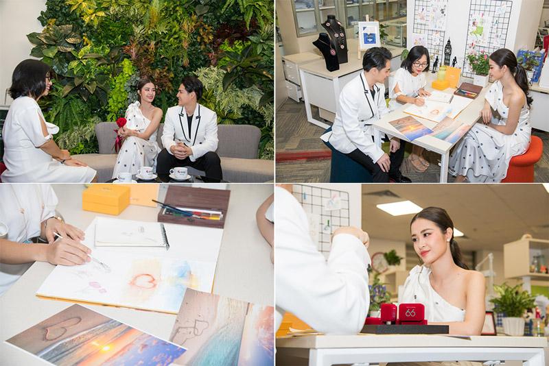 Cặp đôi Nhi - Thắng đã chọn nhẫn cưới tại Doji, còn bạn thì sao?