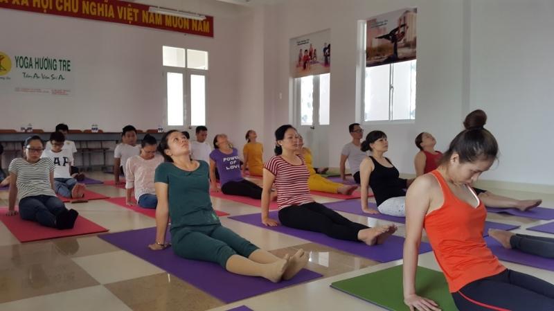 Trung tâm yoga Hương tre với mục tiêu giúp học viên tập luyện khoa học, dễ tập, dễ hiểu mà học phí phù họp cho tât cả mọi người