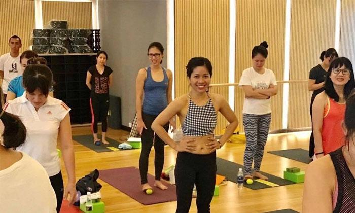Trung tâm yoga nhà văn hoá quận 5 luôn đưa ra những mục tiêu và nội dung luyện tập rõ ràng, theo dõi sự tiến bộ của từng học viên
