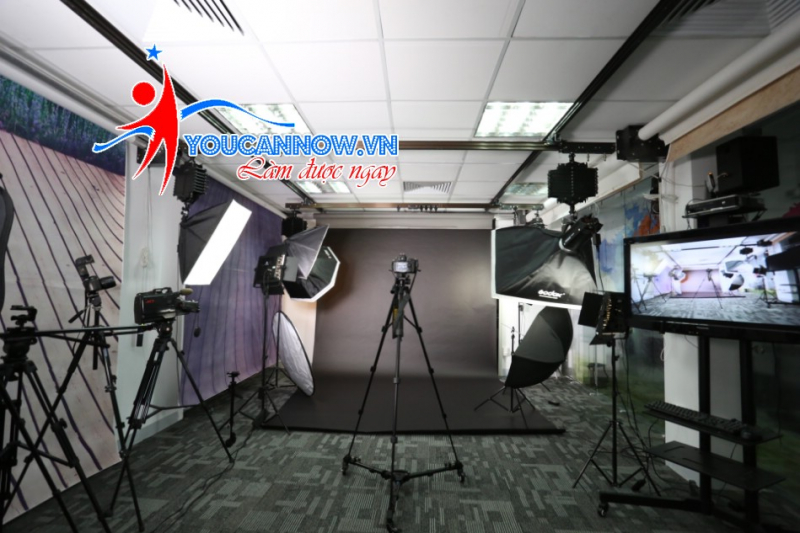 Phòng thực hành quay phim chụp ảnh You can now