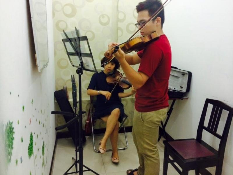 1 phòng học của Việt Thanh