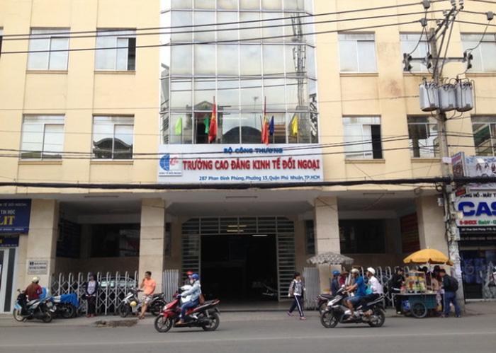 Trường Cao đẳng Kinh tế đối ngoại TP.HCM